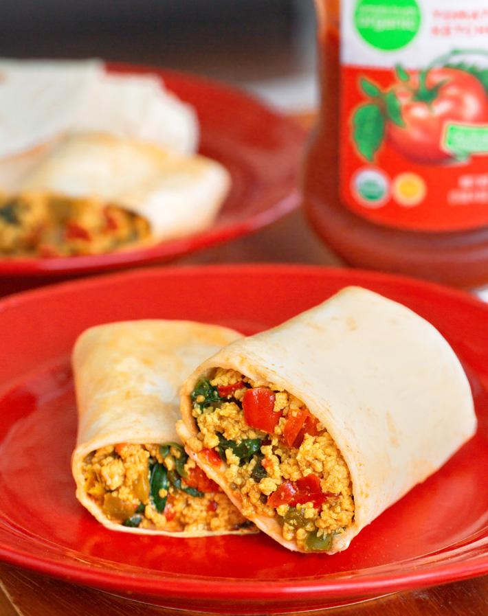 Vegan Breakfast Burrito Recipe