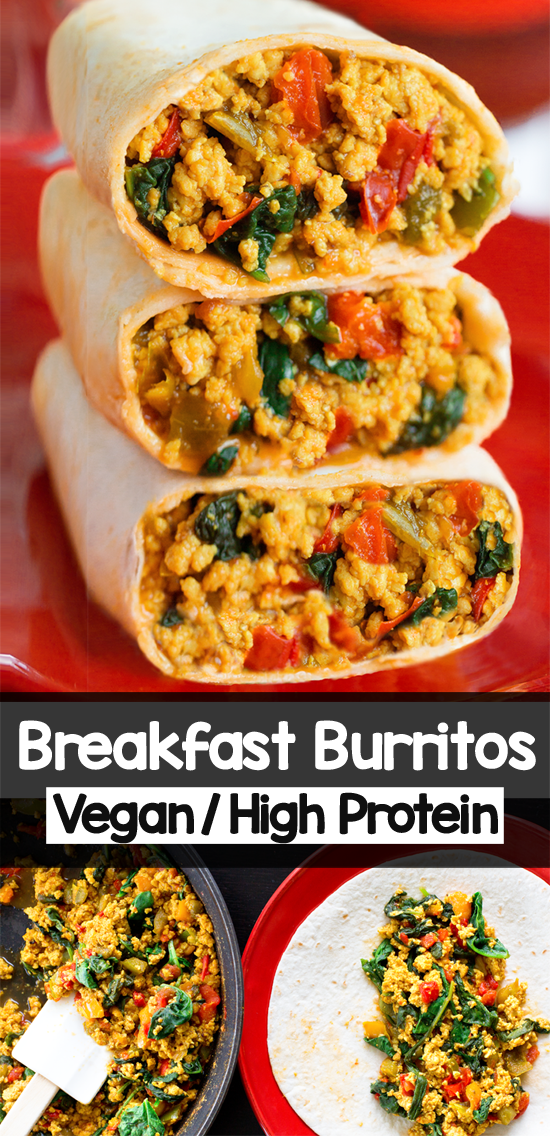 Breakfast Vegan Burritos