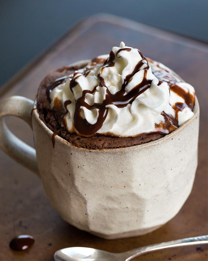 Chocolate Protein Cake In A Mug