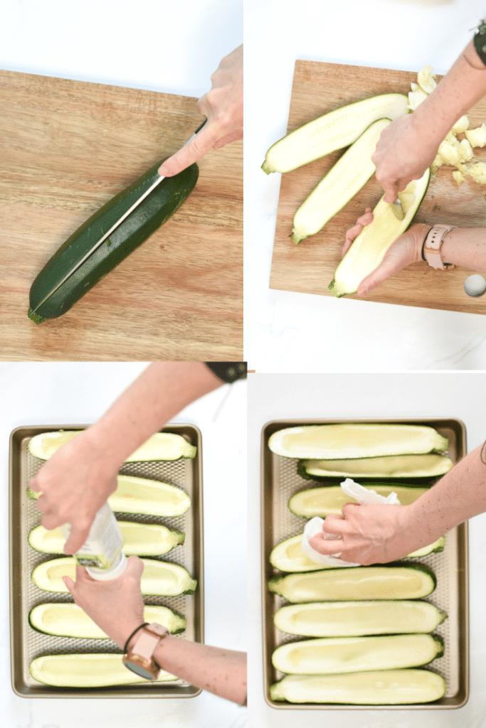 How to make stuffed zucchini