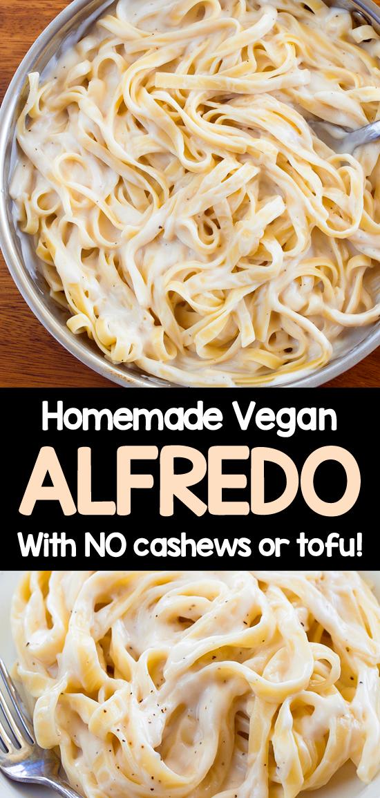 How To Make Cashew Free Vegan Alfredo Sauce