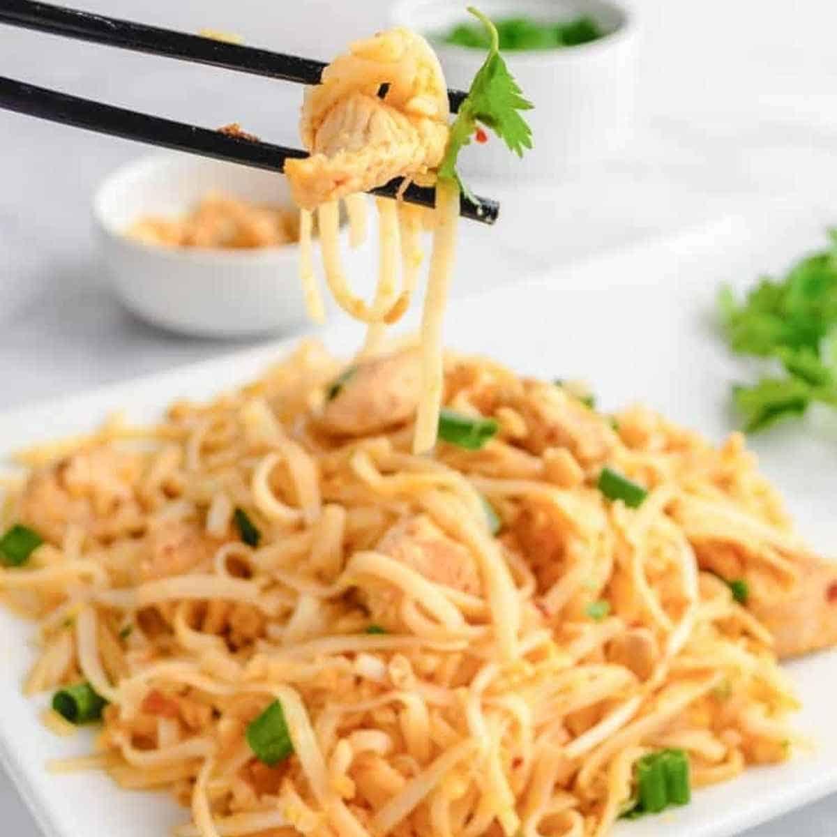 Keto chicken pad thai - Shirataki: The True Keto Approved Asian Noodle