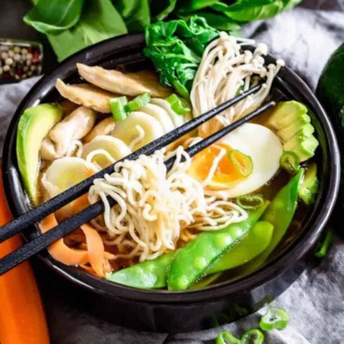 keto ramen chicken noodles - Shirataki: The True Keto Approved Asian Noodle