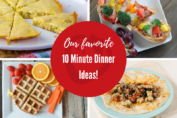 10 Minute Dinners
