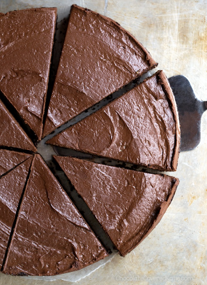 Secretly Healthy Avocado Chocolate Pie