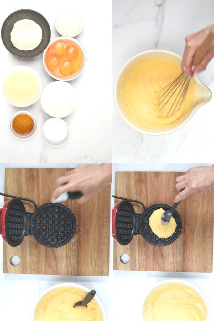 How to make coconut flour waffles
