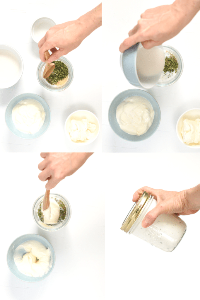 How to make keto ranch dressing